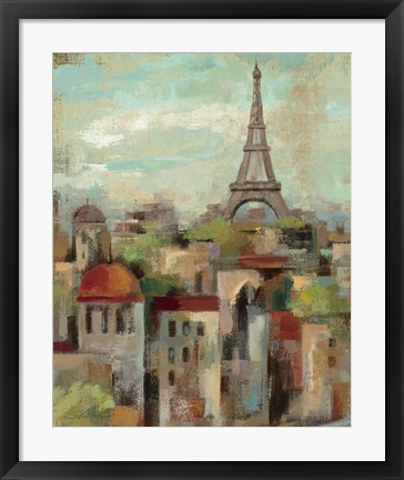 Framed Spring in Paris II Print