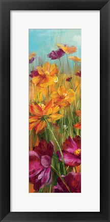 Framed Cosmos in the Field II Print