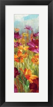 Framed Cosmos in the Field III Print