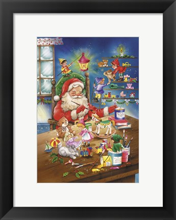Framed Almost Christmas Print