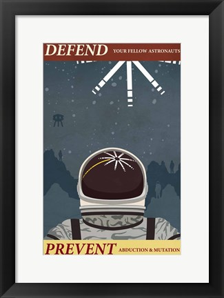 Framed Prevent Abduction Print