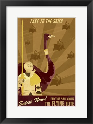 Framed Flying Elite Print