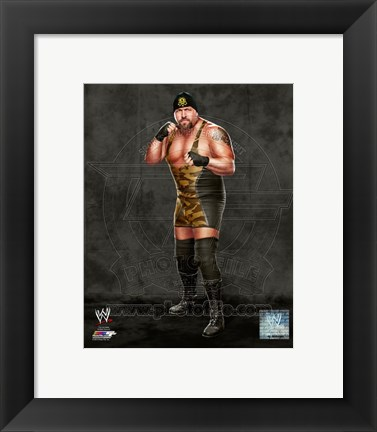 Framed Big Show 2013 Posed Print