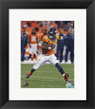 Framed Demaryius Thomas 2013 catching the ball Print