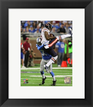 Framed Brandon Marshall 2013 Action Print