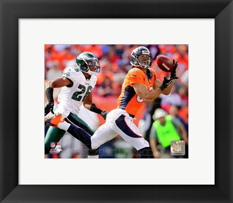 Framed Eric Decker 2013 Action Print