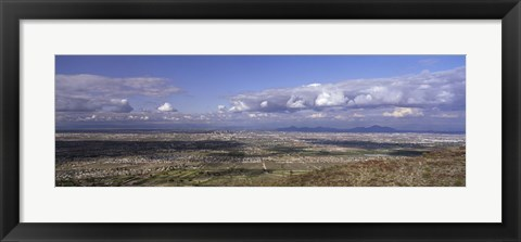 Framed Clouds over a landscape, South Mountain Park, Phoenix, Maricopa County, Arizona, USA Print