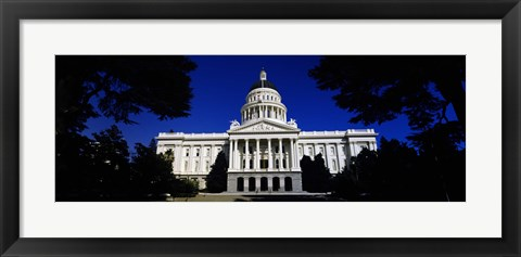 Framed California State Capitol Building Print