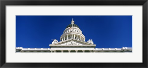 Framed Dome of California State Capitol Building, Sacramento, California Print