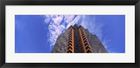 Framed Low angle view of an office building, Sacramento, California Print