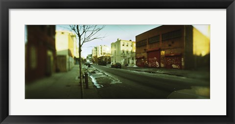 Framed Buildings in a city, Williamsburg, Brooklyn, New York City, New York State, USA Print