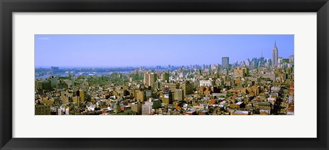 Framed Manhattan, New York City, New York State, USA Print