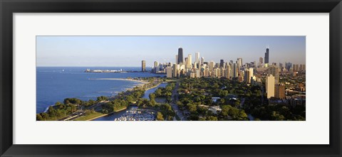 Framed USA, Illinois, Chicago Print