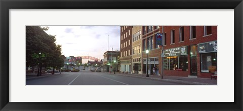 Framed Street View of Kansas City, Missouri Print