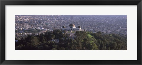 Framed Griffith Park Observatory, Los Angeles, California, 2010 Print