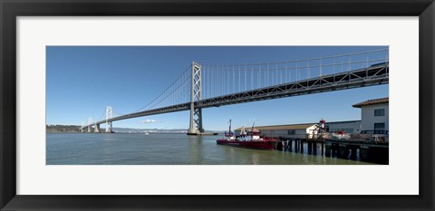 Framed Bay Bridge San Francisco, California Print