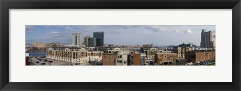 Framed Inner Harbor, Baltimore, Maryland, 2009 Print