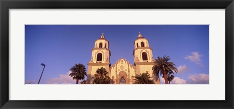 Framed Low Angle View of St. Augustine Cathedral, Tucson, Arizona Print