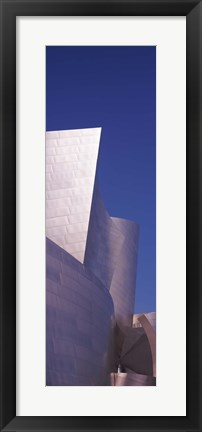 Framed Walt Disney Concert Hall, Los Angeles County, California Print