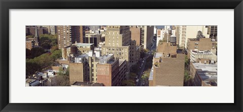Framed Buildings in a city, Chelsea, Manhattan, New York City, New York State, USA Print