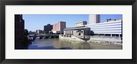Framed Genesee River, Rochester, Monroe County, New York State Print