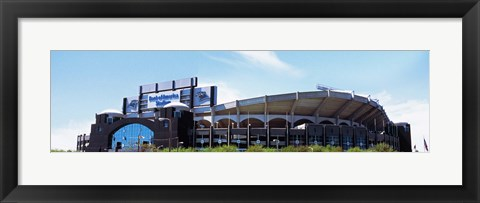 Framed Football stadium in a city, Bank of America Stadium, Charlotte, Mecklenburg County, North Carolina, USA Print