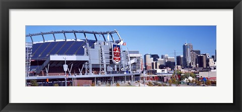 Framed Sports Authority Field at Mile High, Denver, Colorado Print