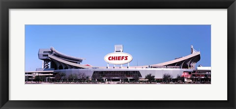Framed Arrowhead Stadium, Kansas City, Missouri Print