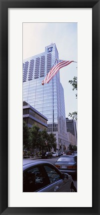 Framed Skyscraper in a city, PNC Plaza, Raleigh, Wake County, North Carolina, USA Print