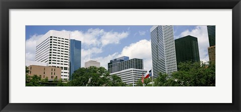 Framed Downtown Houston, Texas, USA Print
