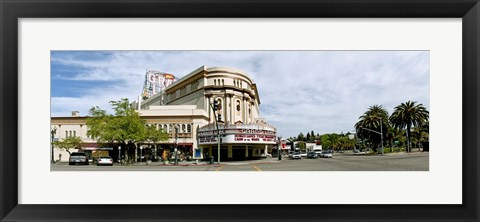 Framed Grand Lake Theater in Oakland, California, USA Print