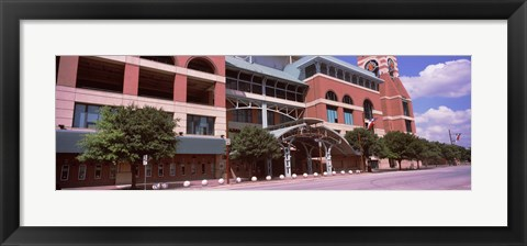 Framed Facade of a baseball stadium, Minute Maid Park, Houston, Texas, USA Print