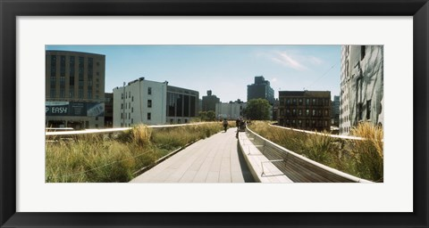 Framed Pathway, Chelsea, Manhattan, New York City, New York State, USA Print