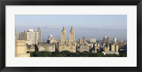 Framed Dakota, The Langham, The San Remo, Central Park West, Manhattan, New York City, New York State, USA Print
