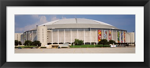 Framed Baseball stadium, Houston Astrodome, Houston, Texas, USA Print
