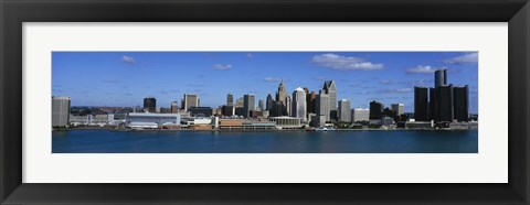 Framed USA, Michigan, Detroit Print