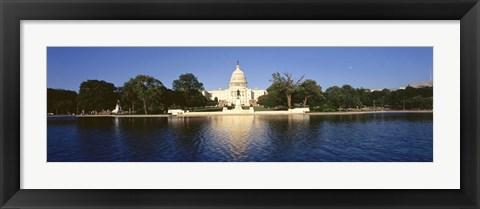 Framed USA, Washington DC, US Capitol Building Print