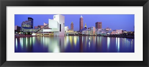 Framed Museum, Rock And Roll Hall Of Fame, Cleveland, USA Print