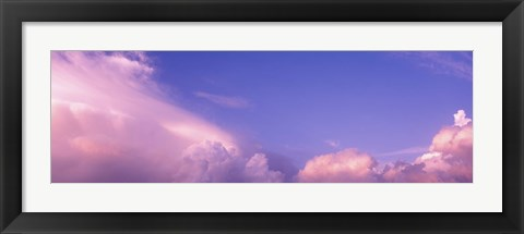 Framed Low angle view of clouds, Phoenix, Arizona, USA Print
