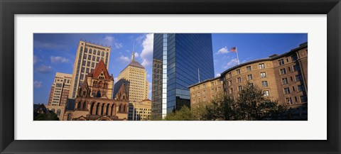 Framed USA, Massachusetts, Boston, Copley Square Print