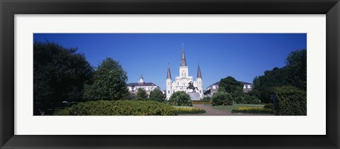 Framed Jackson Square, New Orleans, Louisiana Print