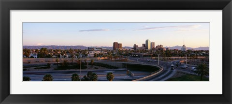 Framed USA, Arizona, Phoenix, sunset Print