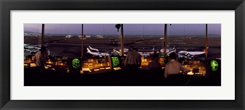 Framed San Francisco Intl Airport Control Tower San Francisco CA Print