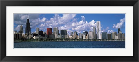 Framed Clouds, Chicago, Illinois, USA Print