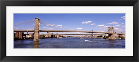 Framed Brooklyn Bridge, NYC, New York City Print