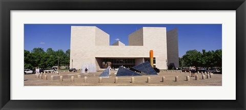 Framed Facade of a building, National Gallery of Art, Washington DC, USA Print