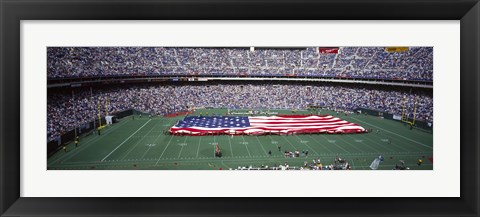 Framed Veterans Stadium, Philadelphia, Pennsylvania Print
