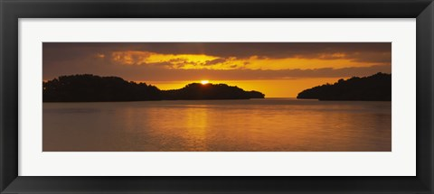 Framed Islands in the sea, Everglades National Park, Miami, Florida, USA Print