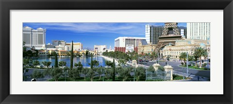 Framed Strip Las Vegas NV Print