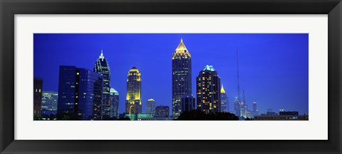 Framed Evening, Atlanta, Georgia, USA Print